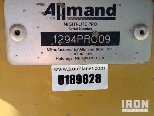 Light Tower Serial Number
