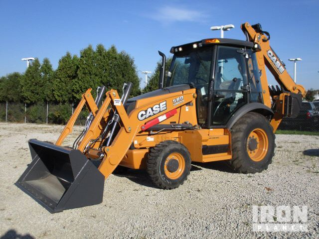 2015 Case Backhoe