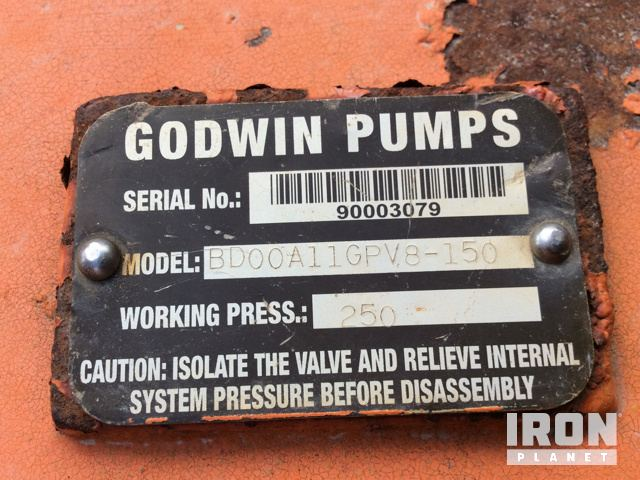 Water Pump Serial Number