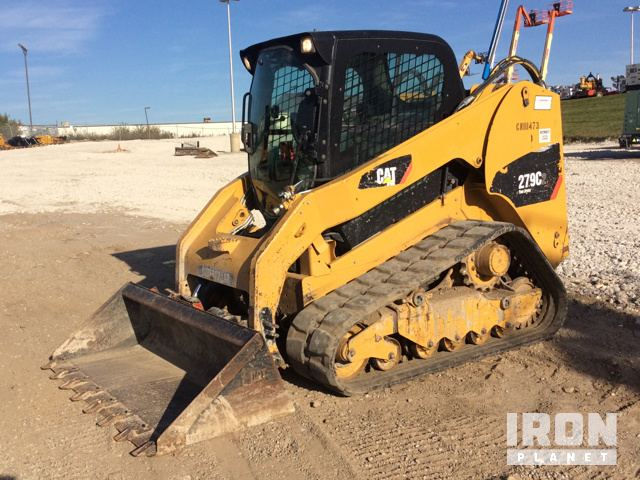 2012 Cat Compact Track Loader