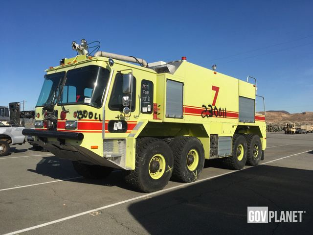 1995 Teledyne Continental Motors A S32p 23 8x8 Fire Truck In Yermo California United States