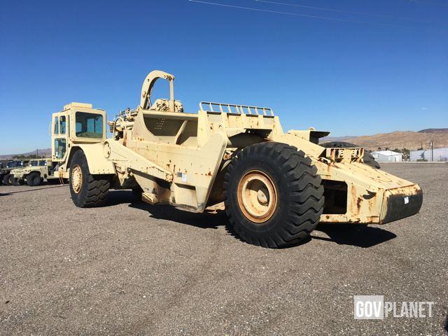 Surplus cat 621b motor scraper in yermo california for Planet motors on military