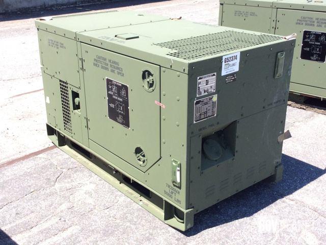 Surplus 2012 Fermont MEP803A 10kW Gen Set in Albany Georgia