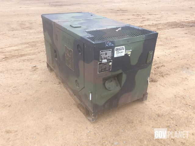 Surplus 2006 Fermont MEP803A 10kW Gen Set in Albany Georgia