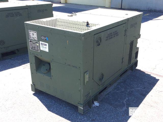Surplus 2009 Fermont MEP803A 10kW Gen Set in Albany Georgia