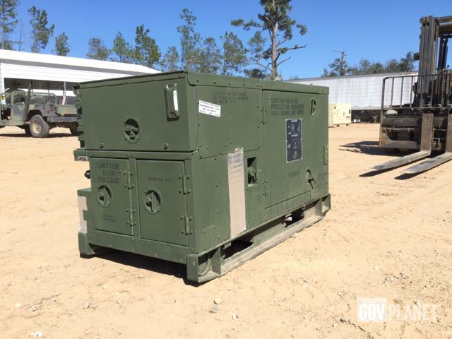 Surplus 1998 Fermont MEP803A 10kW Gen Set in Albany Georgia