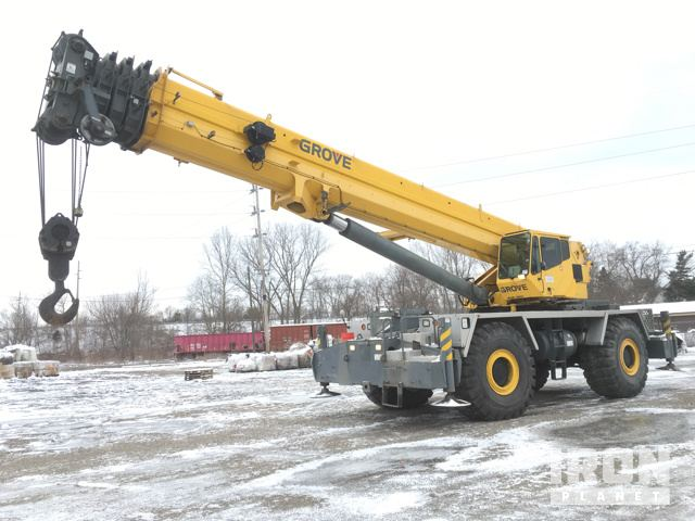 Mobile Crane Questions And Answers : Grove rt e rough terrain crane in dover ohio
