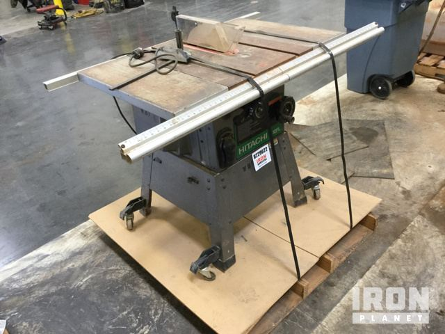 Hitachi c10fl 10 table saw in davidson north carolina united hitachi c10fl 10 table saw keyboard keysfo Gallery