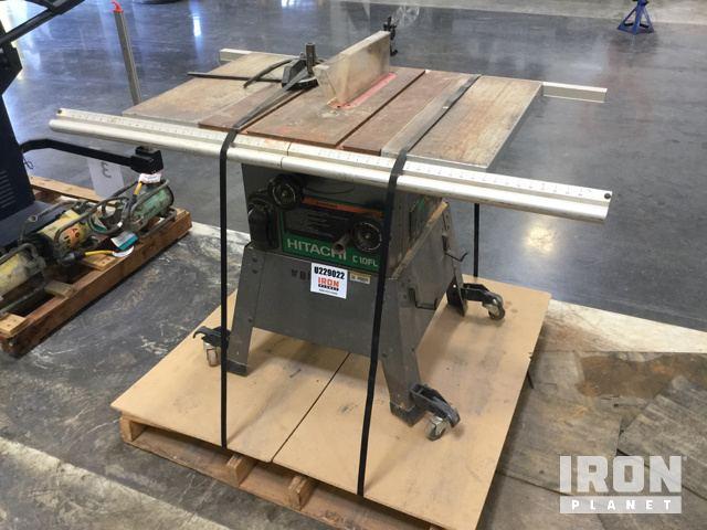 Hitachi c10fl 10 table saw in davidson north carolina united photos videos greentooth Image collections
