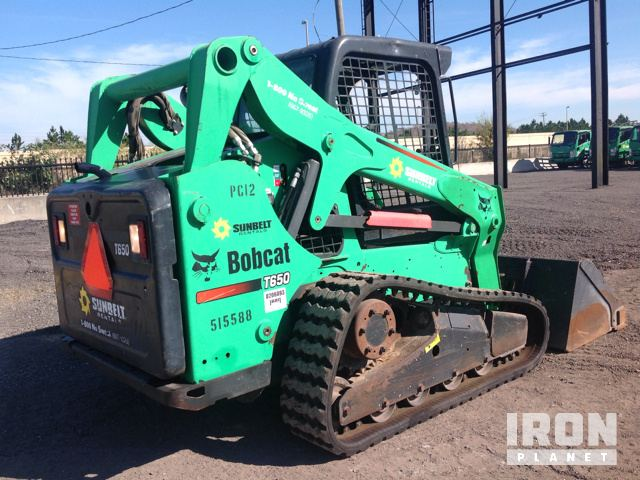 bobcat t compact track loader in orlando florida united photos videos