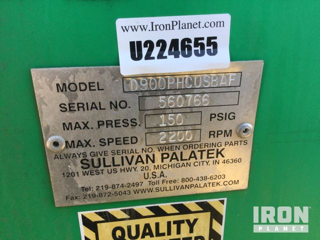 Air Compressor Serial Number