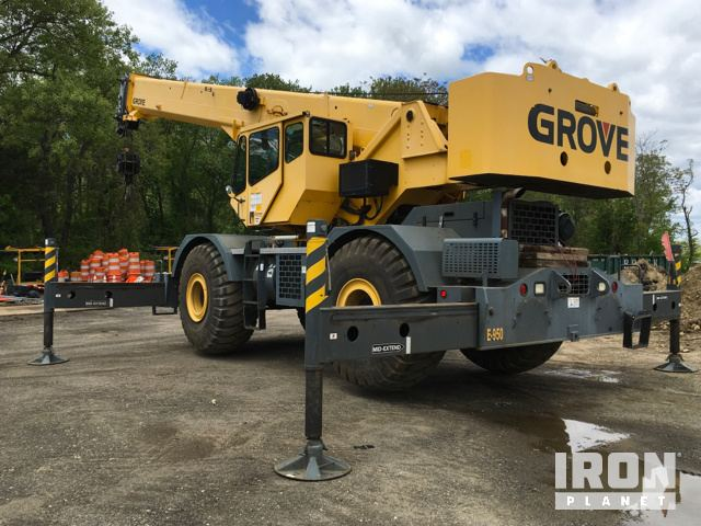 Detail photo of 2008 Grove RT700E from Construction Equipment Guide