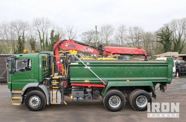 2008 Mercedes-Benz 26-29 Axor 6x4 Tipper Grab