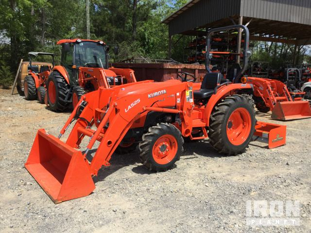 Kubota l2900 4wd tractor in calvert city kentucky united states 2016 kubota l2501d 4wd tractor sciox Images