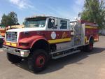 2000 International 4900 4x4 Fire Truck