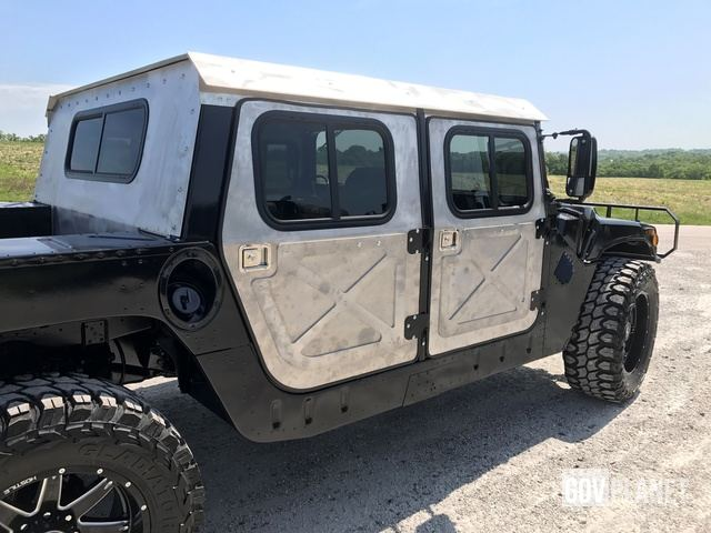 Picture Right Rear Corner & Surplus HMMWV Humvee Hard Door Kit in Washington Missouri United ...