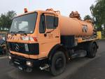 Mercedes Benz 1622 Sewer Cleaner Truck