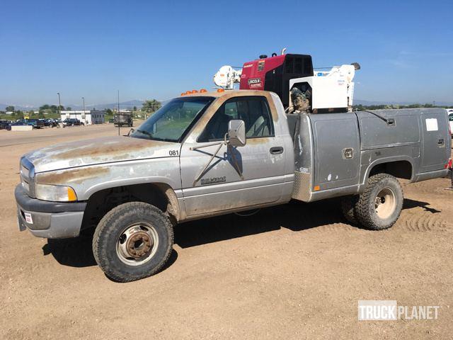 1995 Dodge Ram 3500 Service Truck W/ Crane
