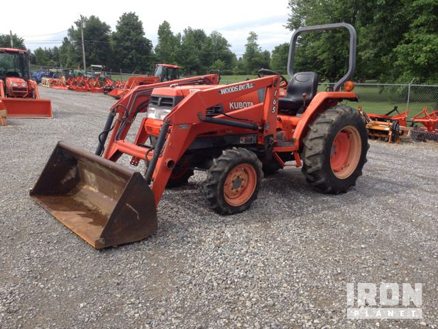 Kubota l2900 4wd tractor in calvert city kentucky united states kubota l2900 4wd tractor sciox Images
