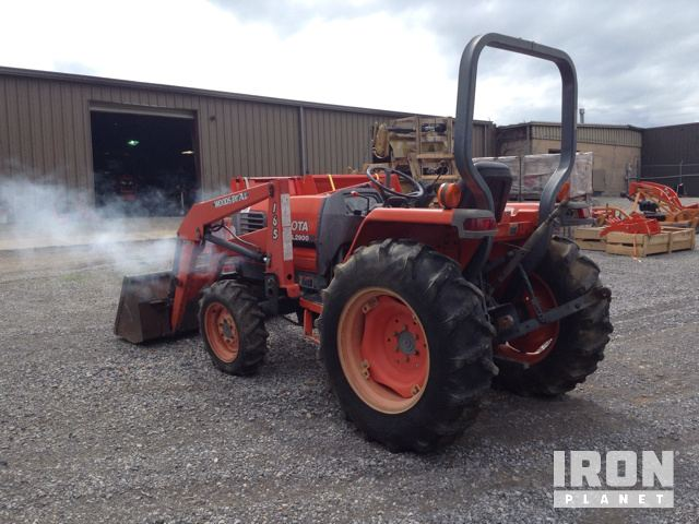 Kubota l2900 4wd tractor in calvert city kentucky united states photos videos sciox Images