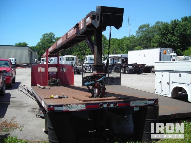 26u0027 Flatbed Body W/Cleasby Roofing Conveyor