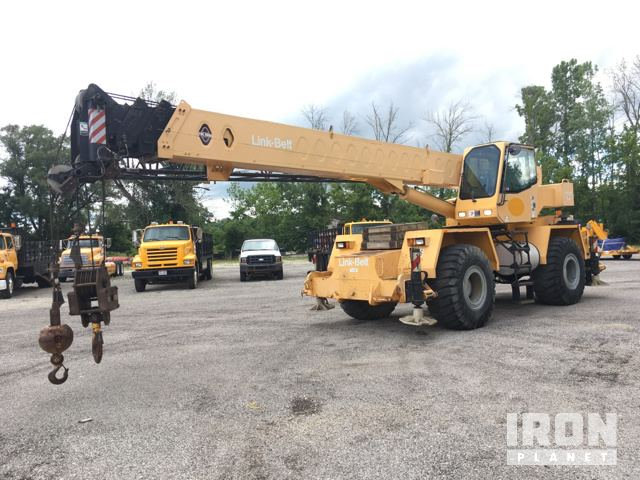 Detail photo of 1998 Link-Belt RTC-8035 from Construction Equipment Guide
