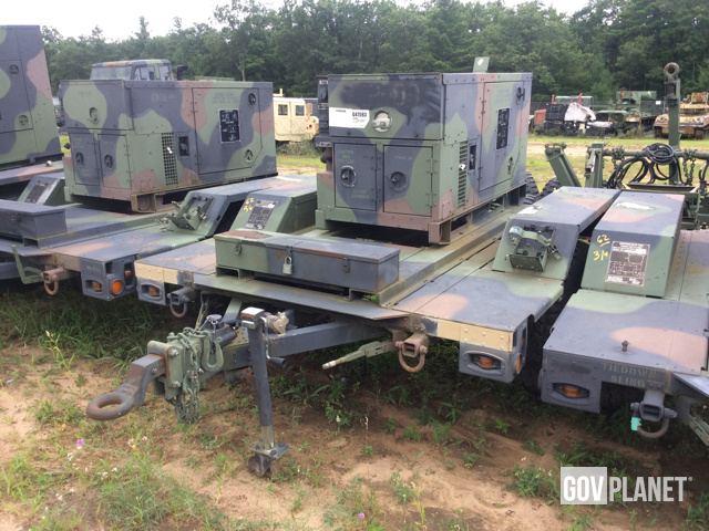 Surplus 2006 Fermont MEP803A 10kW Gen Set in Fort Drum New York