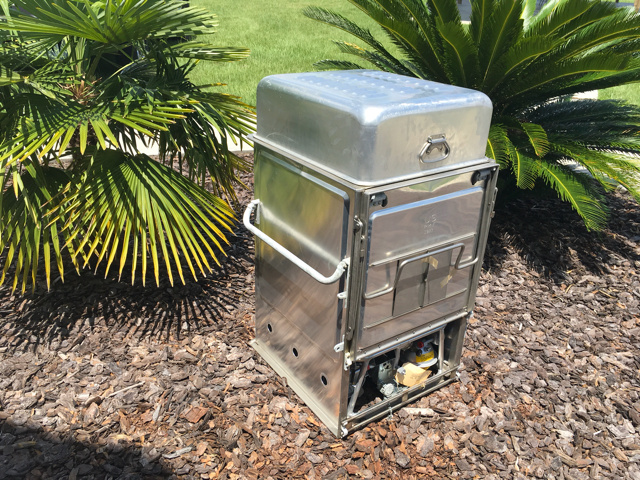 m59 portable stainless steel field kitchen stove unused
