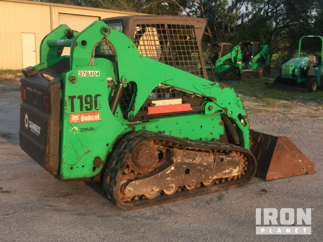 Detail photo of 2011 Bobcat T190 from Construction Equipment Guide