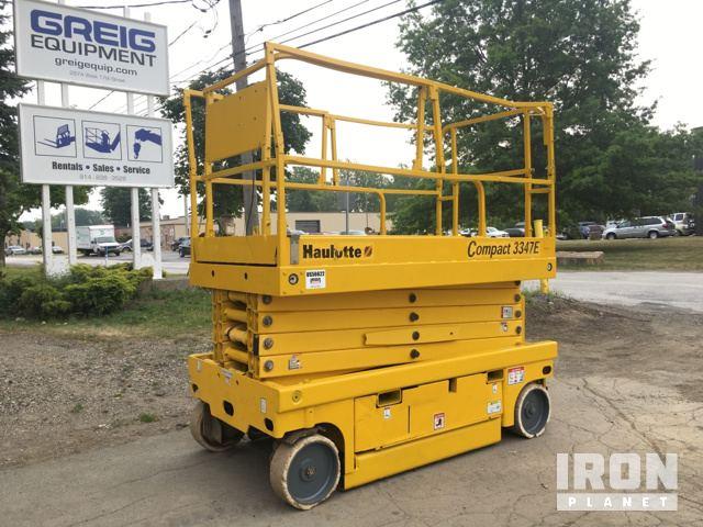 haulotte compact 3347e electric scissor lift in erie pennsylvania rh ironplanet com