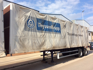 Curtain Side Trailers