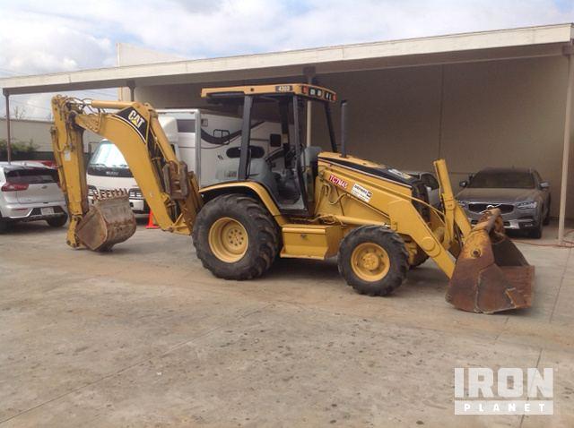 cat 430d 4x4 backhoe loader in orange california united states rh ironplanet com