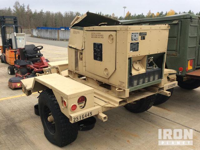 2008 Fermont MEP803A 10kW Generator in US Army Depot Grafenwoehr
