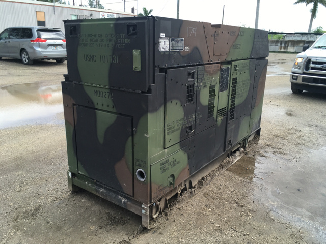 Generator sets for sale in united states ironplanet 2010 fermont mep 807a 100kw gen set sciox Choice Image