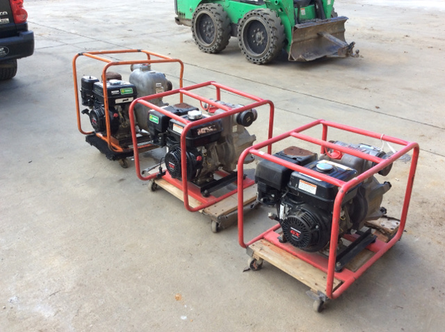 Multiquip for sale ironplanet lot of 3 multiquip 3 water pumps sciox Choice Image