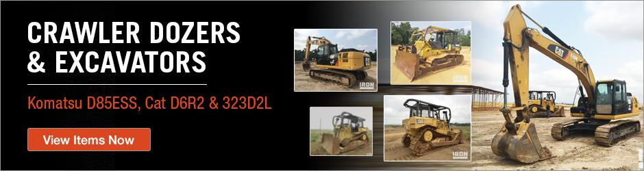 Crawler Dozers & Excavators Gabon